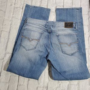 Guess Jeans 31 Light Wash Mid Rise Relaxed…